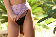 Sarah McDonald Big Boobs and Sexy Pink Skirt 016