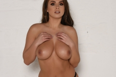 Sarah McDonald Big Tits and Black Stockings and Suspenders 16