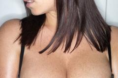 Sarah Nicola Randall Big Tits Black Bra 01