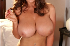 Sarah Nicola Randall Huge Boobs Various Lingerie Shoots 21