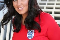 Sarah Nicola Randall Huge Breasts in Tight Football Kit 012