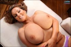 Sarah Nicola Randall Massive Tits and Lavender Panties 02