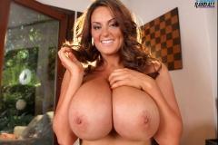 Sarah Nicola Randall Massive Tits and Lavender Panties 32