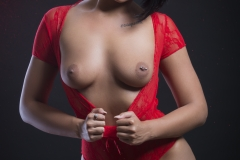 Scarlett Hope Shows Naked Tits in Some Outfits 012