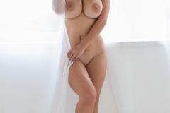 Sharona-Big-Tits-in-White-Summer-Dress-for-Photodromm-008
