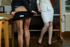 Sophia Smith Shows Boobs to Teacher as She strips out of school uniform 06