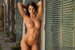 Sophie Perky Boobs Naked in high heels 11