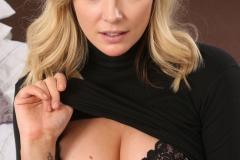 Stacey M Big Tit Secretary in Tight Minidress 007