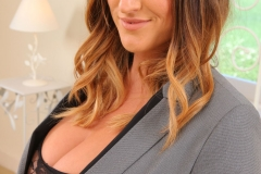 Stacey Poole Huge Cleavage Seccretary 02
