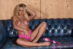 Stacey Robyn Big Boobs Pink Bikini 014
