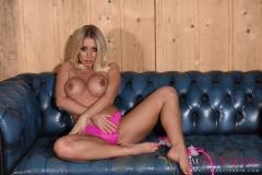 Stacey Robyn Big Boobs Pink Bikini 016