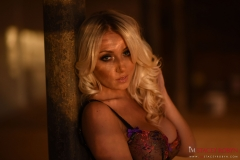 Stacey Robyn Big Tits Black Basque and Stockings 05