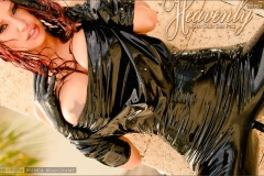 Bianca Beauchamp  Huge Tits Pink and Black Rubber Outfits 012