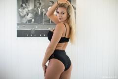 Tahlia Paris Big Boobs in Sexy Black Bra 009