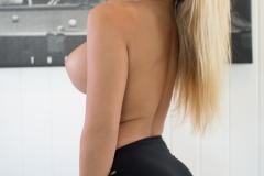 Tahlia Paris Big Boobs in Sexy Black Bra 011