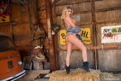 Tahlia Paris Huge Boobs in the Barn 15