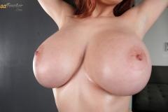 Tessa Fowler Big Tits Black Bra and Panties 059