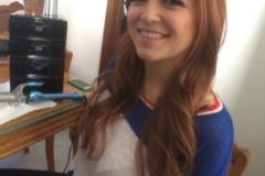 Tessa Fowler Boobs candid behind the scenes 01