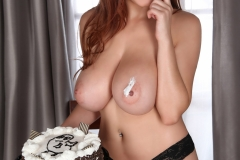 Tessa Fowler creamy tits 10