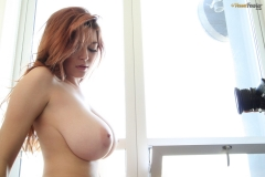 Tessa Fowler Huge Boobs Black Bra 11