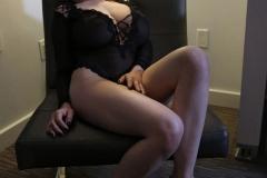 Tessa Fowler Huge Boobs Laced in Corset 009