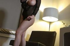 Tessa Fowler Huge Boobs Laced in Corset 019