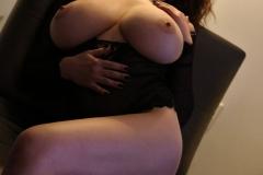Tessa Fowler Huge Boobs Laced in Corset 020