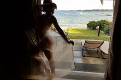 Vanesa Parks Sexy Boobs in White Bikini 001