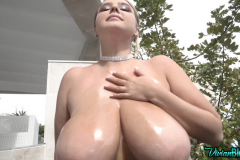 Vivian-Blush-Huge-Tits-in-Black-Minidress-and-Heels-003