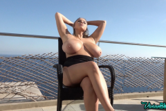 Vivian-Blush-Huge-Tits-in-Black-Swimsuit-at-the-Pool-007