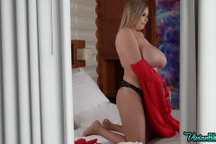 Vivian-Blush-Huge-Tits-in-Tight-Red-Minidress-009