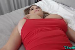 Vivian-Blush-Huge-Tits-in-Tight-Red-Minidress-015