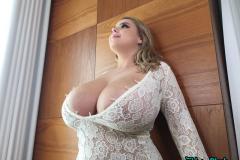 Vivian-Blush-Huge-Tits-in-White-Dress-019