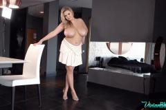 Vivian-Blush-Huge-Tits-in-White-Shirt-Dress-006