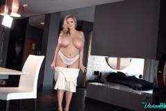 Vivian-Blush-Huge-Tits-in-White-Shirt-Dress-009