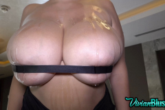 Vivian Blush Huge Tits Strapped in Place 009