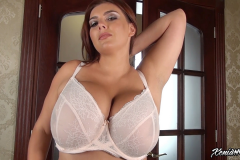 Xenia Wood Huge Boob Bra Selection 003