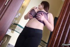 Xenia Wood Huge Boob Bra Selection 014