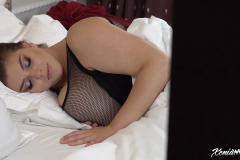 Xenia Wood Huge Boobs Come out at Bed time 005