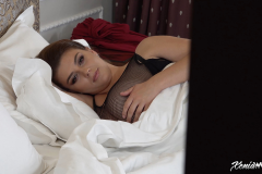 Xenia Wood Huge Boobs Come out at Bed time 018