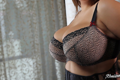 Xenia Wood Huge Boobs in Sexy Bra 005