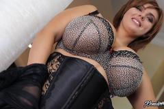 Xenia Wood Huge Boobs in Sexy Bra 006