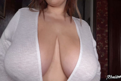 Xenia Wood Huge Tits Barely Covered by Transparent Top 018