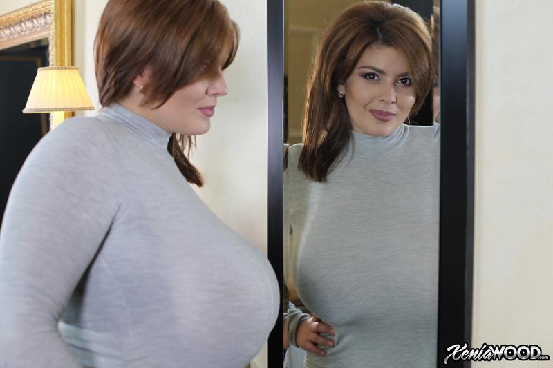 Xenia-Wood-Huge-Tits-in-Grey-Sweater-Dress-002