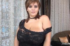 Xenia-Wood-Huge-Ttis-in-Black-Lace-Dress-002