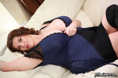 Xenia-Wood-Huge-Ttis-in-Blue-Slip-Dress-002