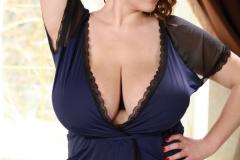 Xenia-Wood-Huge-Ttis-in-Blue-Slip-Dress-001