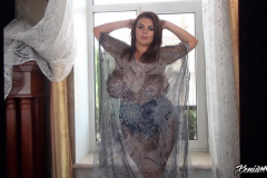 Xenia-Wood-Huge-Ttis-in-This-Floaty-Dress-005