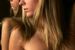 Zuzanna Drabinova Naked Big Boobs in a Mirror 009