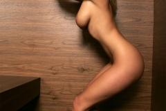 Zuzanna Drabinova Naked Big Boobs in a Mirror 013